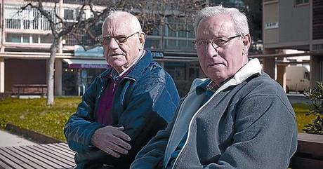 Tirso y Agustín.