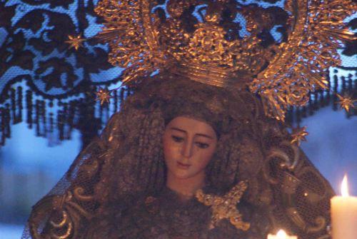 EL ARCHIVO: «La Virgen del Socorro en calle Carmen»