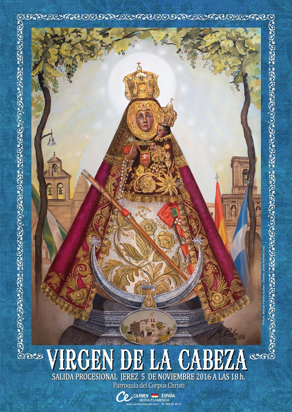 Cultos en honor a la Virgen de la Cabeza en la Parroquia del Corpus Christi