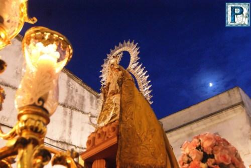 """A PIE DE PASO: """"La Virgen del Rosario de la Yedra en Calle Barja"""""""