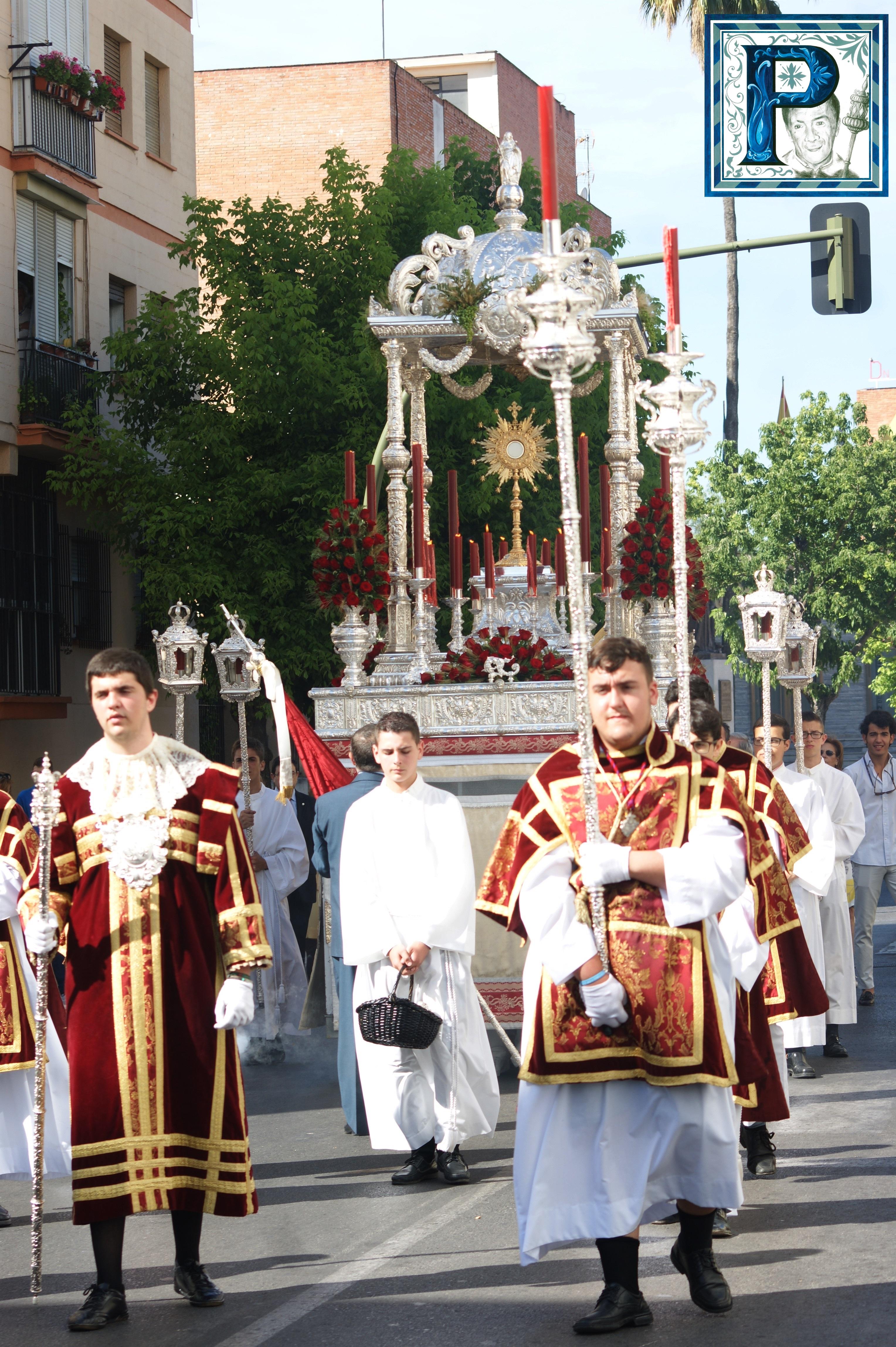 El Corpus de Santa Ana recorrerá hoy las calles del barrio de la Plata