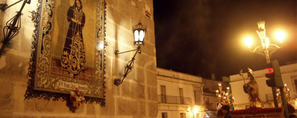 A PIE DE PASO: «Santiago regresando a su templo»