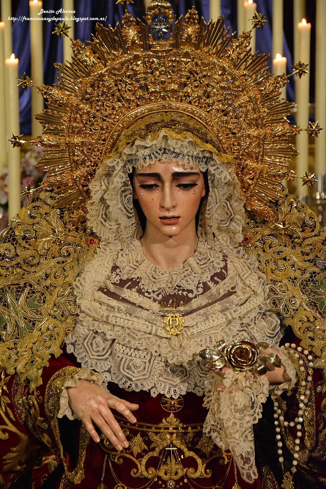 El besamanos de la Virgen de la Salud de San Gonzalo en imágenes