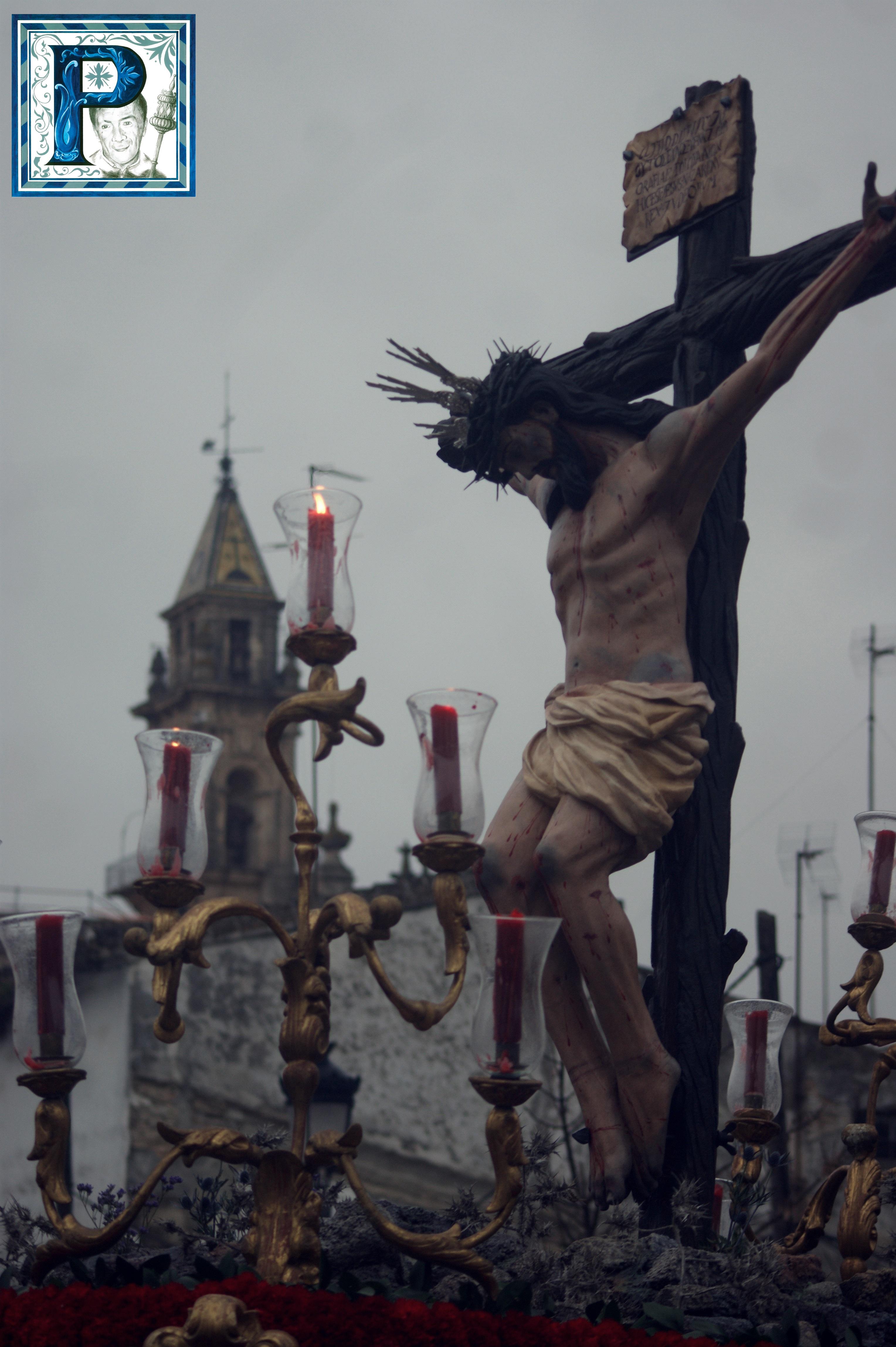 El Cristo de las Almas saldrá hoy en Vía Crucis por las calles de Santiago