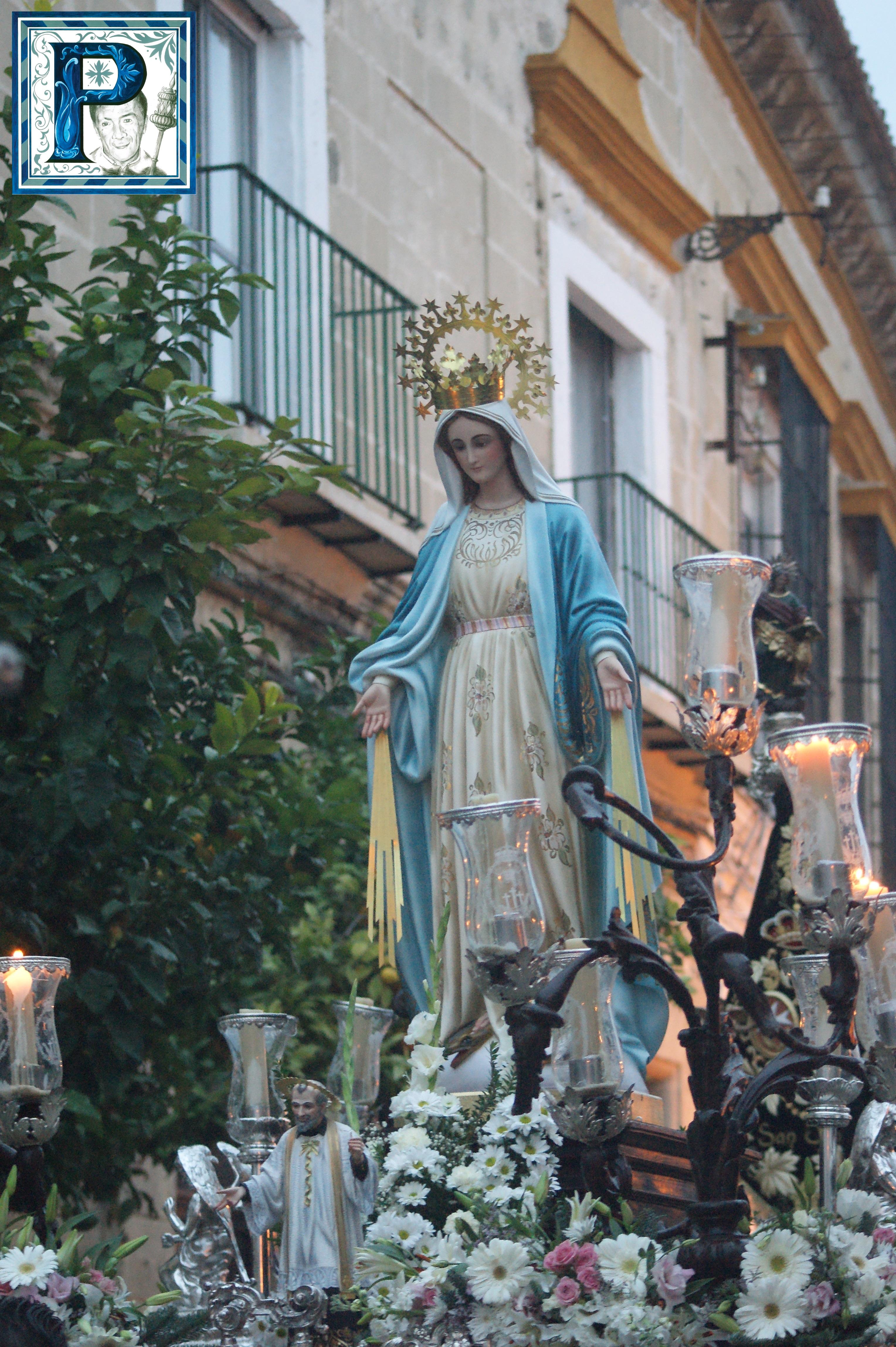La Virgen Milagrosa recorre hoy las calles de nuestra ciudad