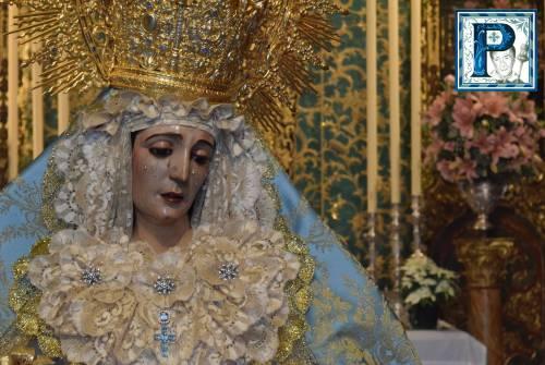 El Besamanos a la Virgen de la Amargura, por Iván Ibáñez