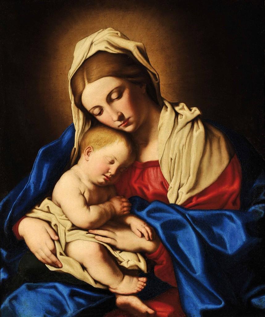 «Santa María, Madre de Dios» por Ildefonso Roldán Macías
