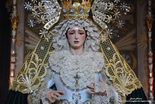 SEVILLA.-El besamanos a la Virgen de los Ángeles en imágenes, por Benito Álvarez