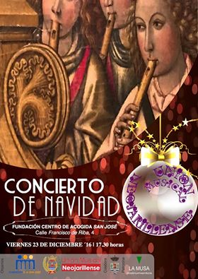 """La Unión Musical Neojarillense ofrecerá un concierto de Navidad en la Fundación Centro de Acogida """"San José"""""""