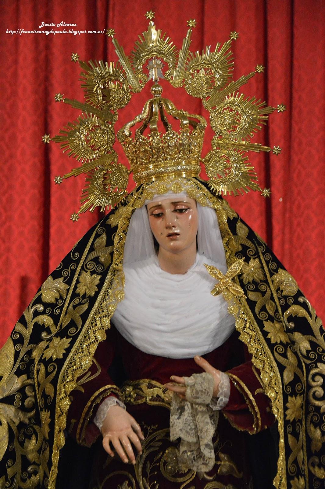 SEVILLA.-El besamanos a la Virgen de la Presentación en imágenes