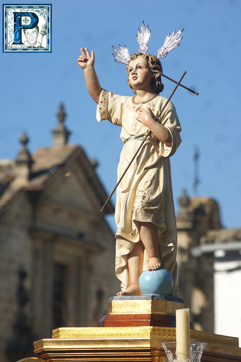 El Niño Jesús de la Hermandad de la Buena Muerte saldrá hoy por las calles de Santiago