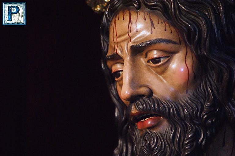 Jesús Cautivo visitará hoy la Basílica de la Merced en su tradicional Vía Crucis