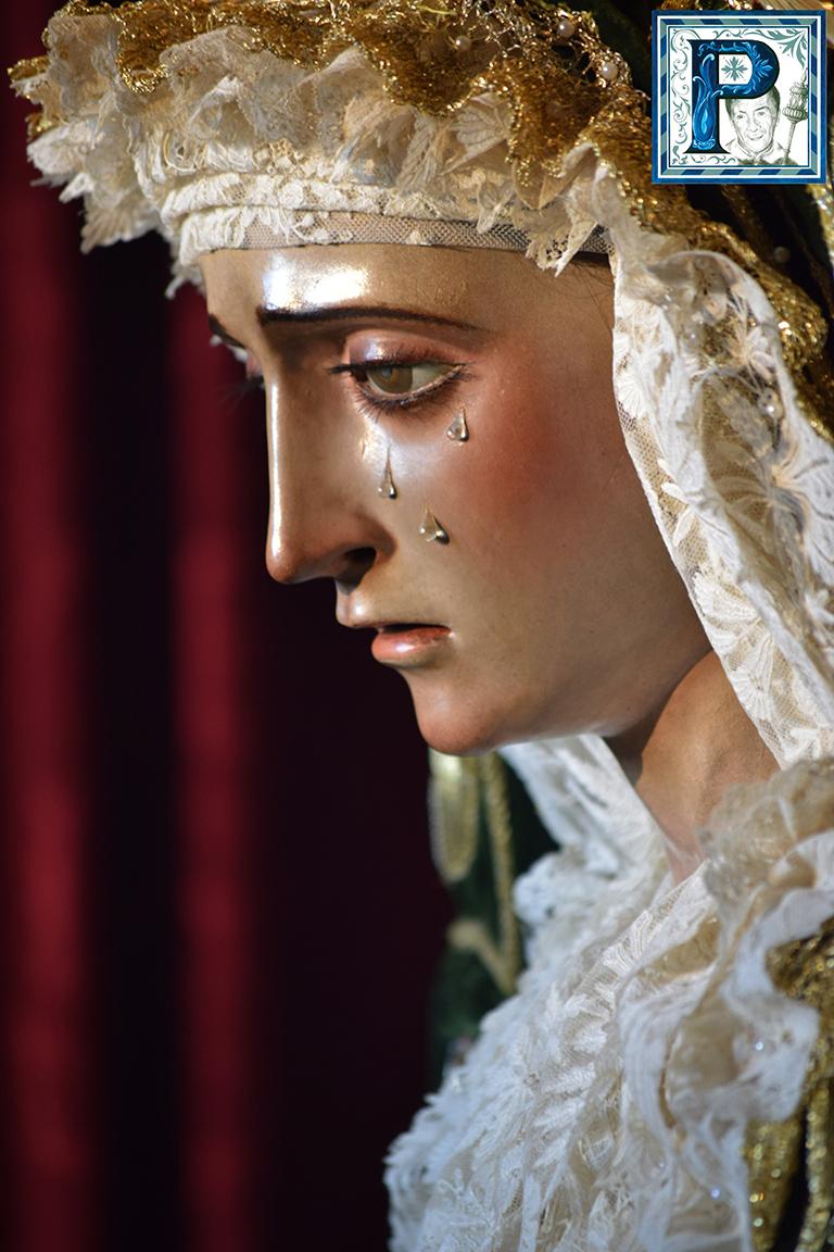 La Virgen de la Esperanza de la Yedra regresa al Oratorio Festivo