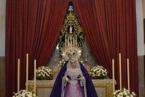 La despedida a la Virgen de la Paz por su restauración en imágenes. Por Lucas Álvarez