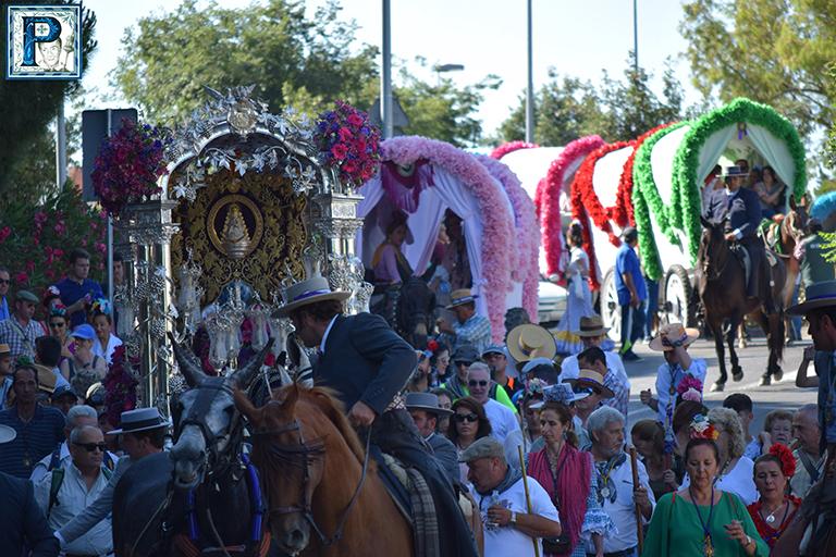 Jerez se presenta hoy ante la Virgen del Rocío