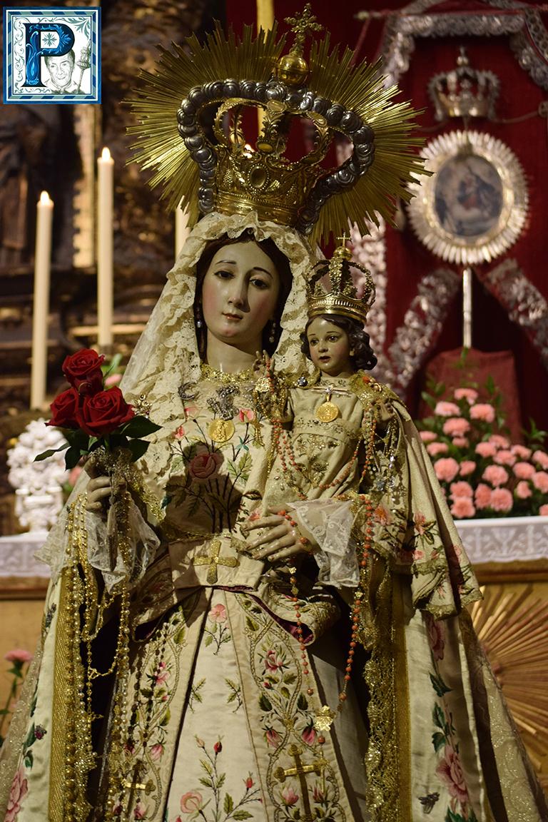 La Archicofradía del Rosario de Montañeses celebra cultos en honor a su titular