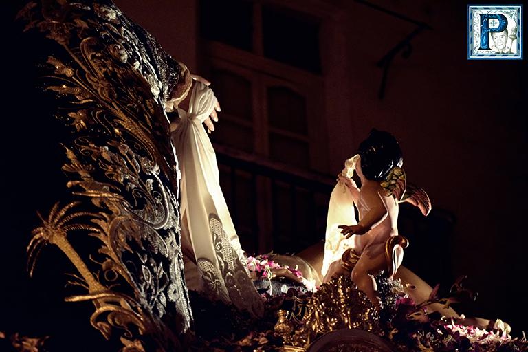 La Extraordinaria de la Virgen de la Caridad de San Fernando desde el objetivo de Lucas Álvarez