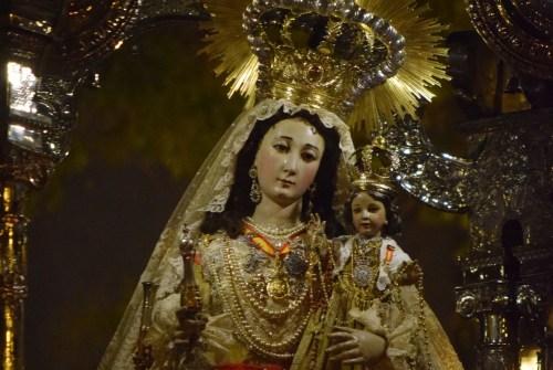 Nueva jornada procesional en torno a la devoción a la Virgen del Rosario