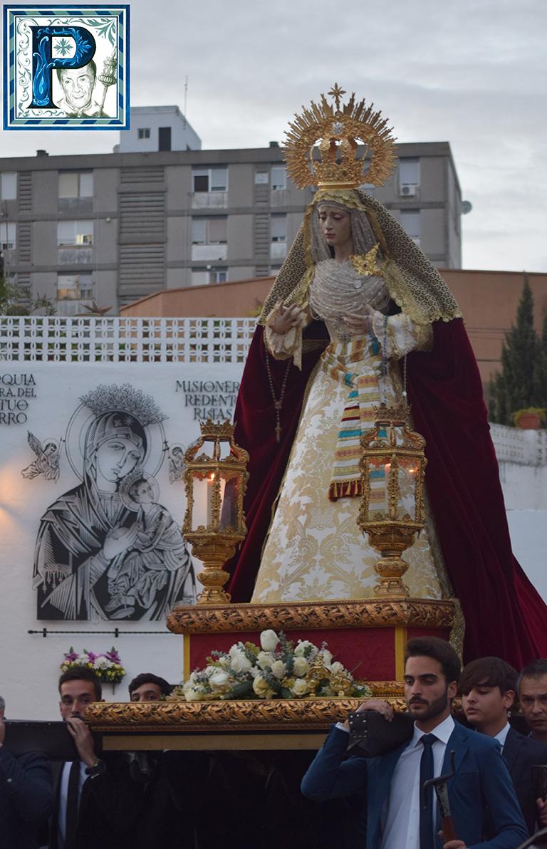 El Rosario vespertino de la Virgen de las Bienaventuranzas desde el objetivo de Lucas Álvarez
