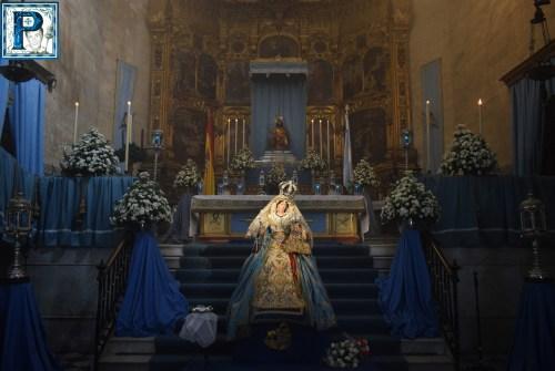 Besamanos de Santa María de la Paz y Concordia Gloriosa