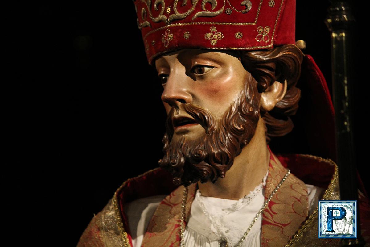 Cultos a San Blas en la Hermandad del Desconsuelo