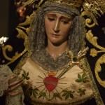 """A PIE DE PASO: """"La Virgen de los Dolores en calle Justicia"""" (Año 2014)"""