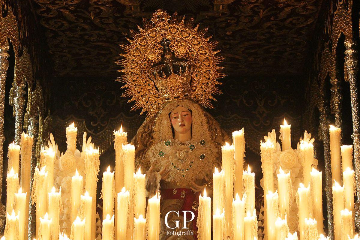 """A PIE DE PASO: """"La Virgen de la Paz en el Barrio de San Pedro"""""""