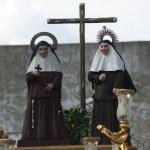 El traslado de Santa Ángela y Santa María de la Purísima, y la Cruz de Mayo de la Redención desde el objetivo de Lucas Álvarez