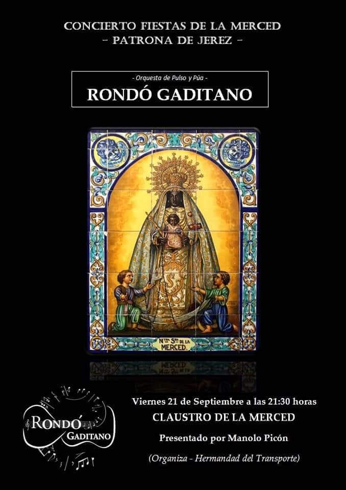 Concierto de Rondó Gaditano y Velada en la Hermandad del Trsnporte