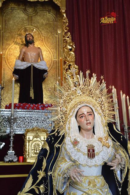 SEVILLA|Besamanos a la Virgen de los Dolores y Misericordia desde el Objetivo de Benito Álvarez