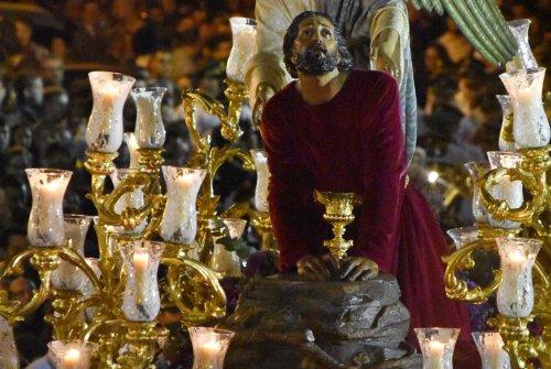 A PIE DE PASO: «El Señor de la Oración en el Huerto en calle Sedería»