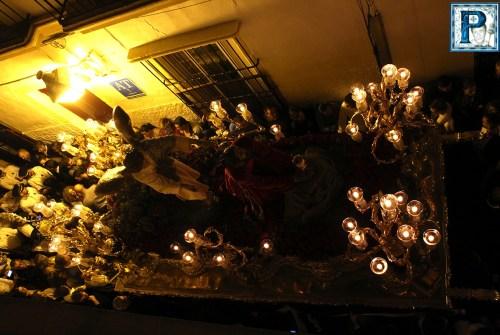 A PIE DE PASO: «El Señor de la Oración en el Huerto en la calle Sedería»