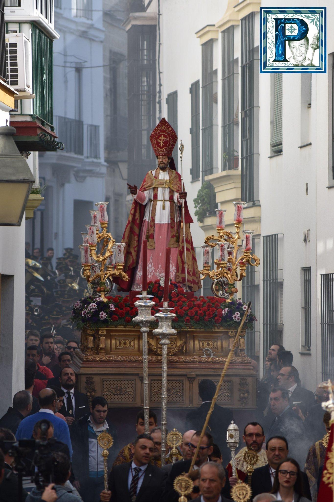La procesión de San Blas desde el objetivo de Lucas Álvarez
