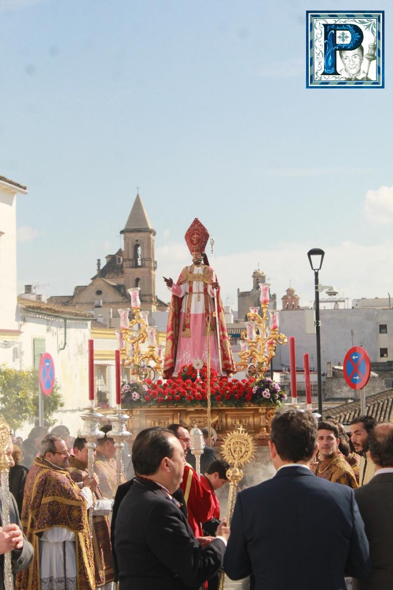 La Procesión de San Blas desde el objetivo de Guillermo Pastor
