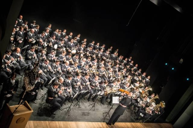 """🔊Concierto presentación de la Agrupación Musical """"Nuestro Padre Jesús de la Pasión"""" (Linares) en la Hermandad de Santa Genoveva"""