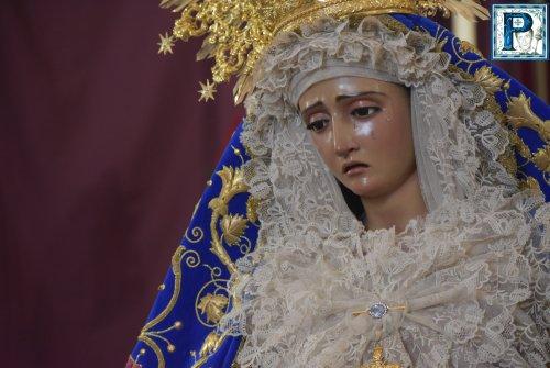 La Hermandad del Cristo celebra el aniversario de la Coronación Canónica de la Virgen del Valle
