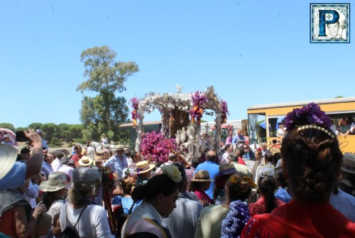 El Camino del Rocío de Jerez desde el objetivo de Guillermo Pastor
