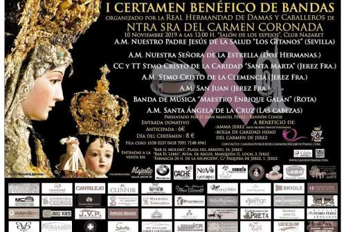 El Carmen anuncia su primer certamen benéfico de bandas