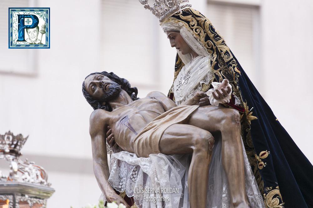 Las Angustias presidirá el Vía Crucis de la Unión de Hermandades