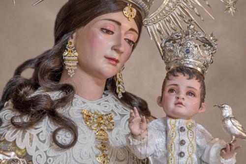 La Virgen de la Salud procesiona esta tarde por las calles de Jédula