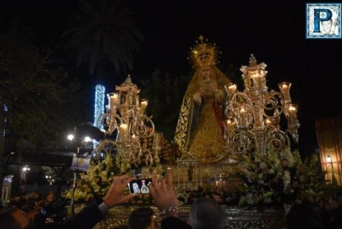 El traslado de la Virgen de la Concepción hasta la Catedral desde el objetivo de Lucas Álvarez