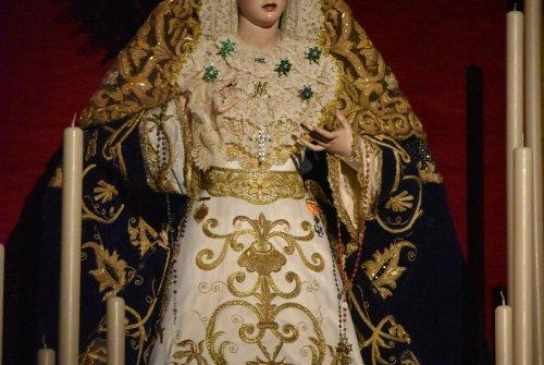 Galería: La Virgen de la Paz en su Mayor Aflicción por su festividad