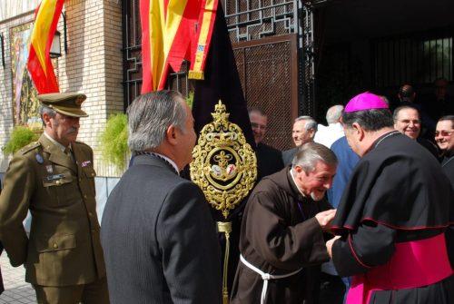 «La Defensión con su Arzobispo Castrense de España» por Fernando Barrera, Hermano Mayor de la Hermandad de la Defensión