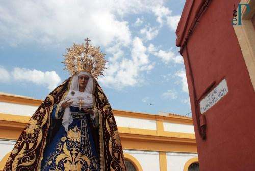 «En la Compañía de María Santísima de la O» por Fernando Barrera Romero