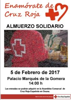 cartel enamorate de cruz roja 2017