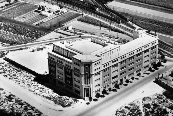 El colegio en los años 50