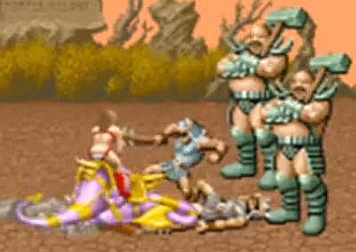 Golden Axe gordos