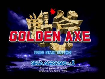 12-Golden Axe
