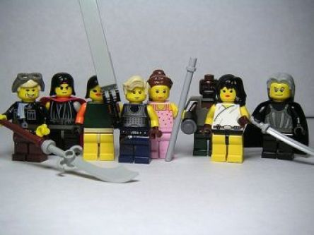 FFVII Lego