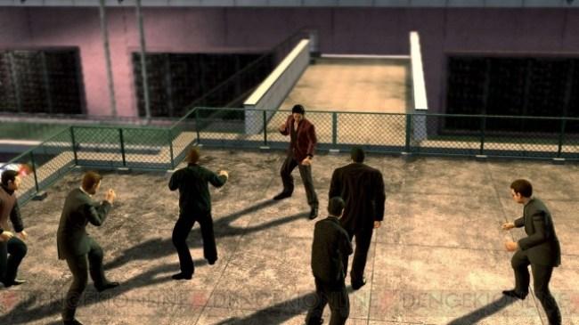 Yakuza 4 team